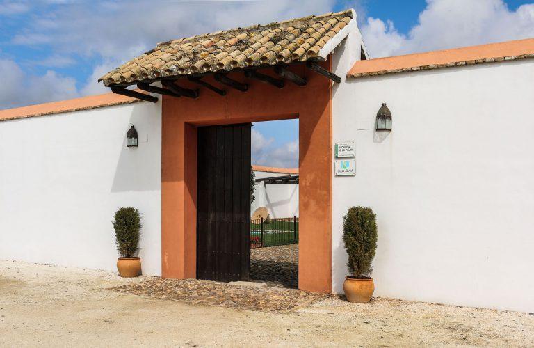 puerta de la hacienda
