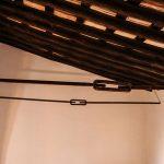 techo de vigas de madera
