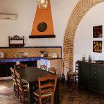 cocina típica casa rural