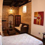 decoración rustica dormitorio