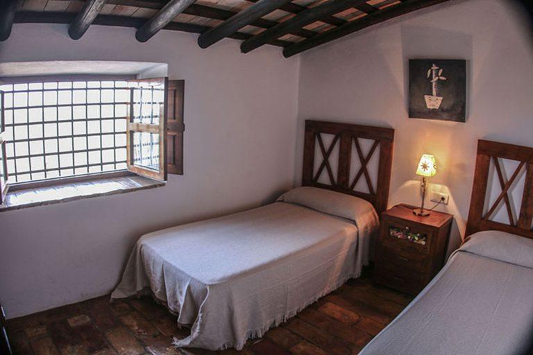 ventana del dormitorio